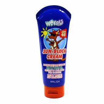 Wokali Dewy White Sun Block Cream (Blue) 100ml Set of 2 - 2