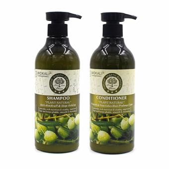 Wokali Set of Olive Shampoo and Conditioner