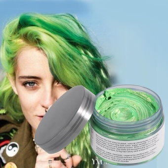 Women Men Disposable Hairstyle Styling Modeling Hair ColoringWax(Green) - intl