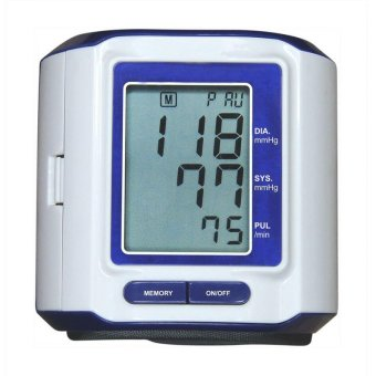 Wrist Type Digital Blood Pressure Monitor (Sphygmomanometer)