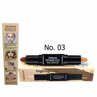 YANQINA Defining Duet Stick Concealer Highlight and Contour No. 03 (self color)