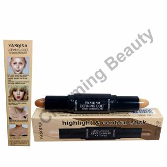Yanqina Highlight and Contour Difining Duet Stick Concealer
