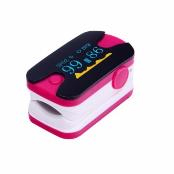 YL-89 Fingertip Pulse Oximeters SPO2 Monitor Home Health Care (Pink) - Intl
