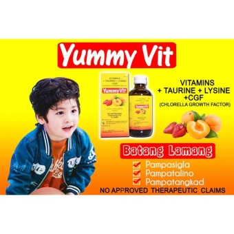 YUMMY VIT SYRUP MULTIVITAMINS