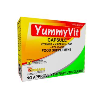 Yummyvit Plus Capsule Multivitamins Box of 100's