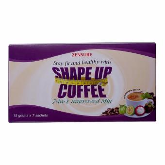 Zensure Shape Up 7-in-1 Slimming Coffee x 7 sachets