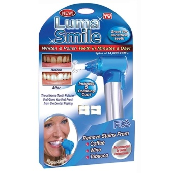 Zover Luma Smile Dental Tooth Polishing Teeth Whitening StainRemover Tool