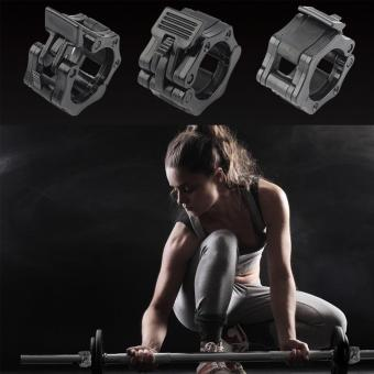"1 Pair Olympic &Standard 2""Weight Bar Collars Barbell BarDumbbell Locking Spin Clamp - intl Price Philippines"