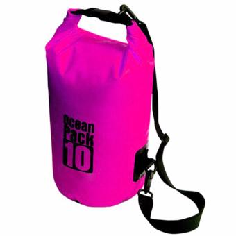 10L Outdoor Ocean Pack Waterproof Dry Bag Sack Storage Bag (Pink) Price Philippines