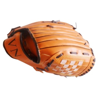 11.5 Inches Baseball Gloves Comfortable Pair of Brown PitcherGloves for Adult - intl - 3