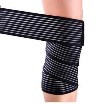 130cm Knee Wrist Ankle Foot Elastic Compression Wrap Sleeve Bandage Brace Support Protection (Intl)