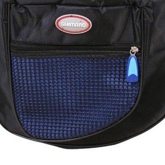 18L Waterproof Bike Rear Seat Tail Bag Bicycle Cycling Pannier Outdoor Racks bag - Intl