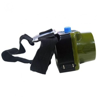 1W LED Headlight Fishing Light Outdoor Lighting LED CampingHeadlamp outdoorfree Rechargeable 2014-2 (Green) Set of 2 - 2