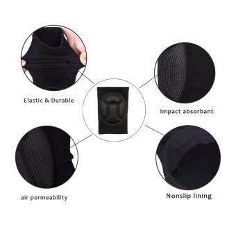 2 pcs Cycling Bike Thick Cushion Gel Comfortable Fit Impact Resistance Knee Pad for Biking Volleyball Cycling Outdoor Sports knee protection pads - 4