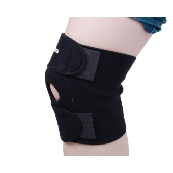 2 PCS Knee Compression Knee Support Knee Wrap Kneecap Black - INTL
