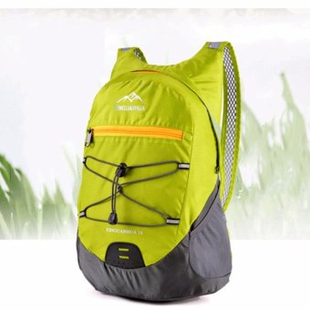 20 Liter Waterproof Foldable Backpack Hiking Daypacks OutdoorDrawstring Travel Bags Laptop Computer Back Pack Camera BagpackPortable Waterproof Men Sports Light Ultra Skin Wear-resistantCycling Trekking - intl