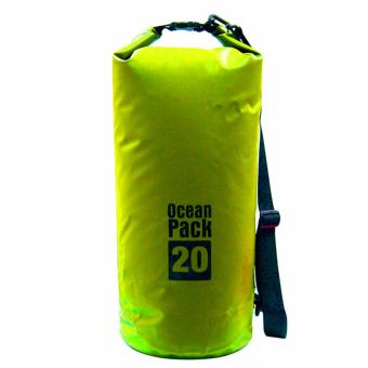 20L Outdoor Ocean Pack Waterproof Dry Bag Sack Storage Bag (Yellow) Price Philippines