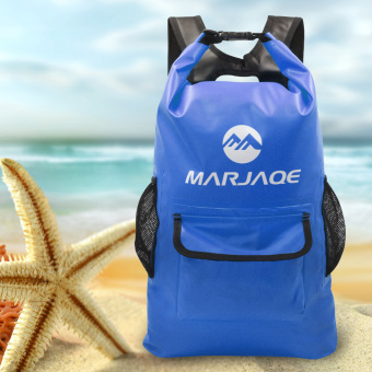 22L Marjaqe Beach Boating Trekking Camping Swimming Waterproof DryBag (Blue) Price Philippines