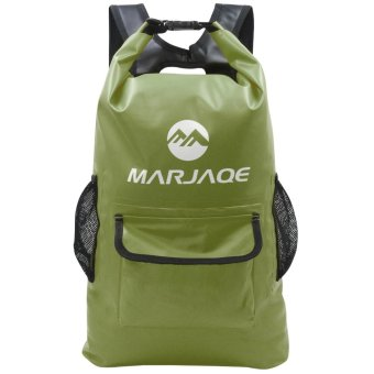 22L Marjaqe Beach Boating Trekking Camping Swimming Waterproof DryBag (Dark Olive Green) Price Philippines