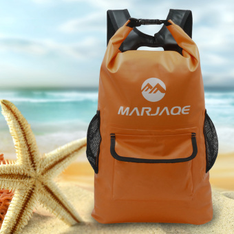 22L Marjaqe Beach Boating Trekking Camping Swimming Waterproof DryBag (Orange) Price Philippines