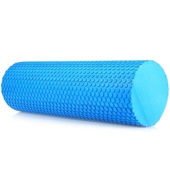 3.93 inches EVA Yoga Pilates Fitness Exercise Massage Gym Foam Roller Blue (Intl)