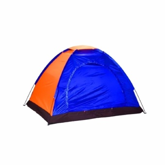 3-Person Dome Camping Tent (Blue) Price Philippines