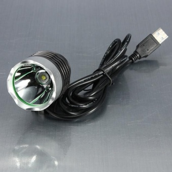3000 Lumen XML T6 USB Interface LED Bike Bicycle Light HeadlampHeadlight 3Mode - intl - 5