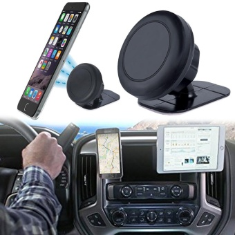 360? Universal Stick On Dashboard Magnetic Car Mount Holder CradleFor Phone - intl