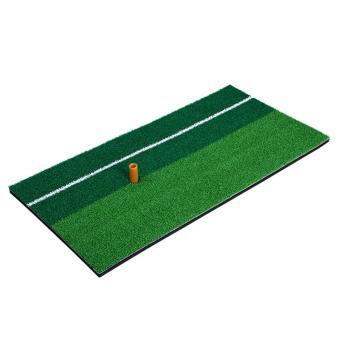 360DSC Dual Color Golf Mini Hitting Mat Golf Practice Grass Matwith White Line - Green - Intl Price Philippines