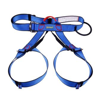 360DSC Xinda Outdoor Half-body Safety Belt Aerial Work AltitudeRock Mountaineering Climbing Harness Rappelling Safety Equipment -Blue Price Philippines