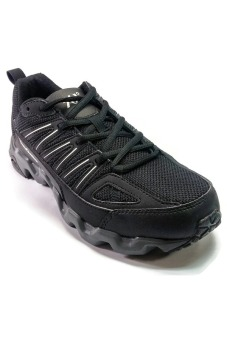 361 Degrees Masta Outdoor Comfort Trail Running Shoes (Black/Grey) Price Philippines