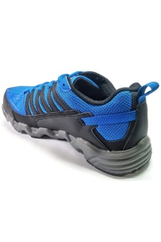 361 Degrees Masta Outdoor Comfort Trail Running Shoes (Blue/Black) - picture 3