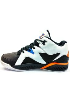 361 Degrees MB Ultimate Basketball Shoes (Black/White)