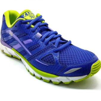 361 Degrees Zomi Running Shoes (Purple/Green)