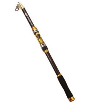 3.6M Carbon Fiber Professional Saltwater Fishing Rod TravelSpinning Pole Grey