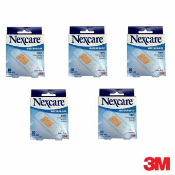 3M Nexcare(TM) Waterproof Bandages Bundle of 5