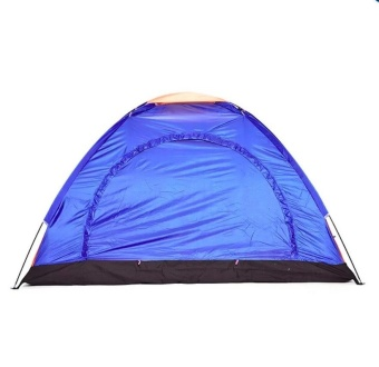 4-Person Dome Camping Tent (Blue) Price Philippines