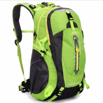 40 Liter Foldable Backpack Hiking Outdoor Drawstring Travel BagsLaptop Computer Back Pack Waterproof Men Sports Light Ultra SkinWear-resistant Cycling Trekking - intl