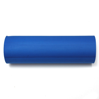 45cm GRID EVA Yoga EXERCISE Gym Pilates Fitness Foam Roller Massage Blue