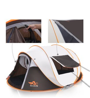 5-8 People Automatic Speed Tents Outdoor Beach Home Camping Tents