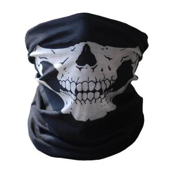 5-Pack Skull Face Masks Motorcycle Riding Bandana Headwear Scarf Outdoor Dustproof - Multifunctional,Seamless,Tublar,Thin - intl - 2