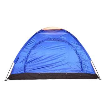 5-Person Dome Family Camping Tent (Multicolor) - 2
