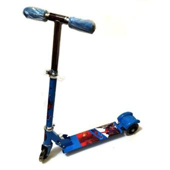 508 type Ride-On Push Scooter for Kids with laser wheel (Blue)