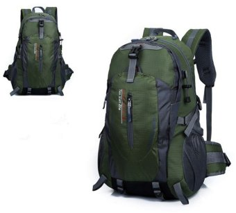 52*30*20CM Cap.40L Army Green Travel Backpack Waterproof PacksHiking Outdoor Mountaineering Sport Bag HZ317