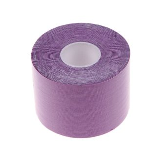 5m × 5cm Sports Muscle Care Tape Elastic Tape (Purple) - INTL - picture 2