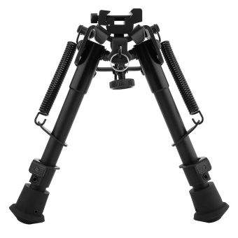 6-9 Inches Outdoor Aluminium Telescopic Rifle Bipod Adjustable Spring Return with 3 Adapters - intl - 2