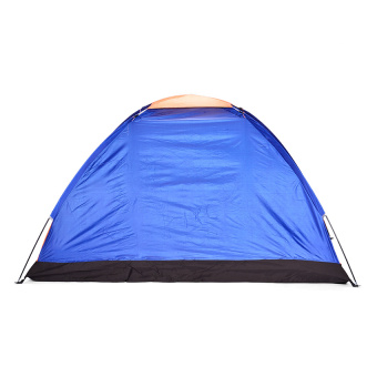 6-Person Dome Camping Tent (Multicolor) with FREE RechargeablePolice Flashlight with Stun Gun - 3