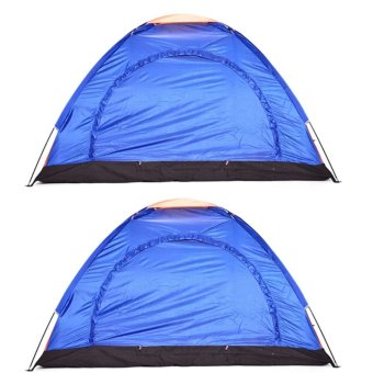 6-Person Dome Camping Tent Set of 2