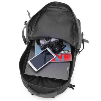 60L Waterproof Oxford Hiking Camping Backpacks OutdoorWear-resisting Bag - 4