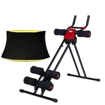 Ab Glider Generator Power Planking (Red) with Hot Shaper Belt